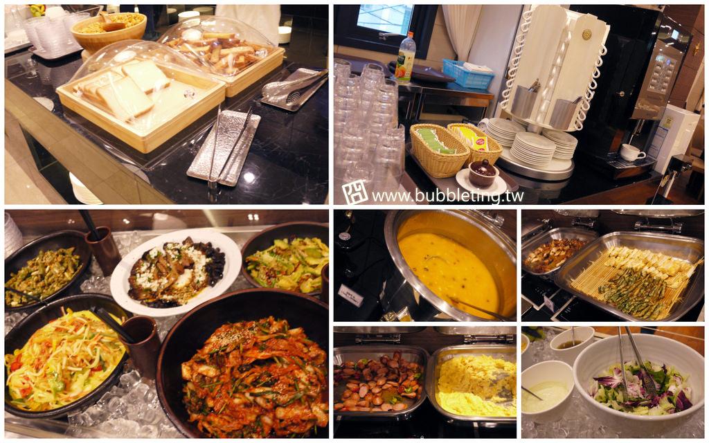 釜山商務飯店早餐